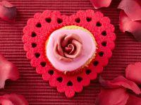 Vanilla Rose Cupcakes recipe