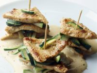 Veal and Courgette Stacks recipe