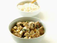 Veal and Mushroom Goulash recipe