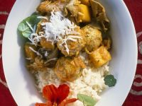 Veal Curry with Meatballs recipe