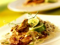 Veal Cutlets with Lime Sauce recipe
