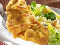 Veal Cutlets with Potato Salad recipe