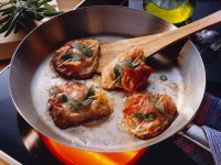 Veal Cutlets with Sage and Prosciutto recipe