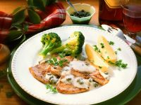 Veal Cutlets with Vegetables recipe
