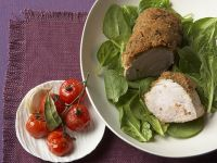 Veal Fillet with White Bread Crust