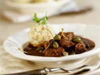 Veal Goulash with Capers recipe