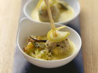 Veal Meatballs in Cardamom Cream and Lemon recipe
