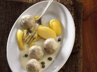 Veal Meatballs with Potatoes recipe