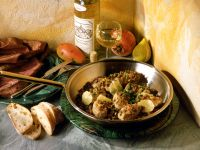 Veal Medallions with Lemon Caper Sauce recipe