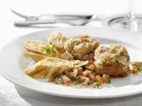 Veal Medallions with Ricotta Filled Crepes recipe