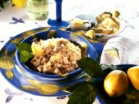 Veal Risotto with Lemon recipe