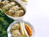 Veal Rolls with Herbs and Pickles recipe