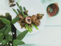 Veal Roulades and Asparagus recipe