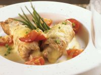 Veal Roulades with Cheese Filling