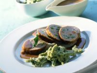 Veal Roulades with Creamy Wine Sauce recipe