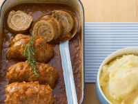 Veal Roulades with Ground Veal Filling