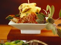 Veal Schnitzel Variations with Prosciutto, Spinach and Sage recipe