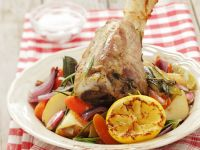 Veal Shank with Vegetables recipe