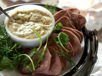 Veal Tongue with Mustard Sauce recipe