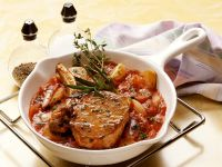 Veal with Tomato Sauce recipe