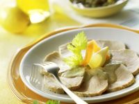 Veal with Tuna-caper Sauce recipe
