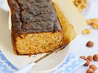 Vegan Carrot Bread with Nuts and Seeds recipe