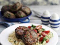 Vegan Mince Burgers with Grains recipe