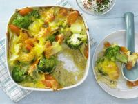 Vegetable-Rice Casserole recipe