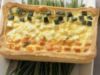 Vegetable and Egg Tart recipe
