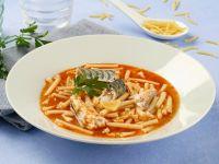 Vegetable and Fish Macaroni recipe