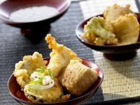 Vegetable and Fish Tempura