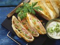 Vegetable and Ham Pie recipe