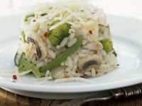 Vegetable and Mushroom Rice recipe