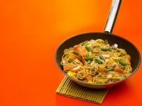 Vegetable and Noodle Stir-fry recipe