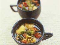 Vegetable Broth Cups recipe