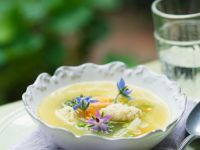 Vegetable Broth with Organic Vegetables recipe