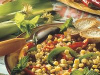 Vegetable Corn Chilli recipe