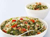 Vegetable Couscous with Chickpeas recipe