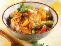 Vegetable Dhal Bowl recipe