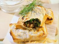 Vegetable, Feta and Walnut in Puff Pastry recipe