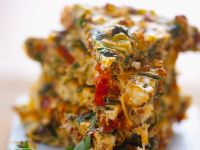 Mediterranean Crustless Quiche recipe