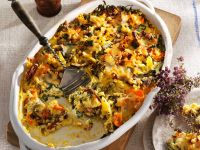 Vegetable Gratin with Millet