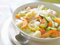 Vegetable Noodle Soup recipe