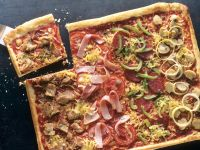 Vegetable Pizza with Tuna recipe