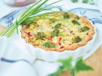 Vegetable Quiche recipe