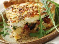 Egg Tart with Mixed Veggies recipe