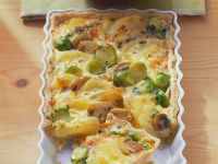 Vegetable Quiche with Potatoes recipe