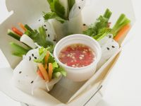 Vegetable Rice Paper Rolls recipe