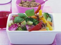 Vegetable Salad with Anchovy Dressing recipe