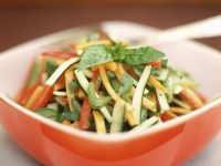 Vegetable Salad with Basil recipe